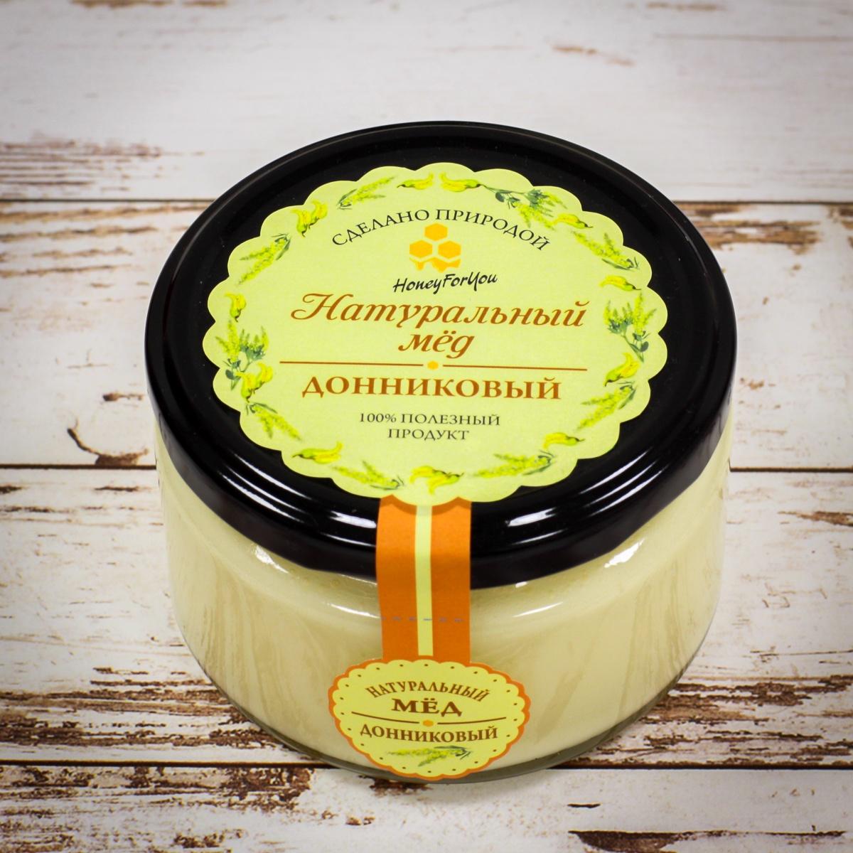 Натуральный донниковый мед HoneyForYou