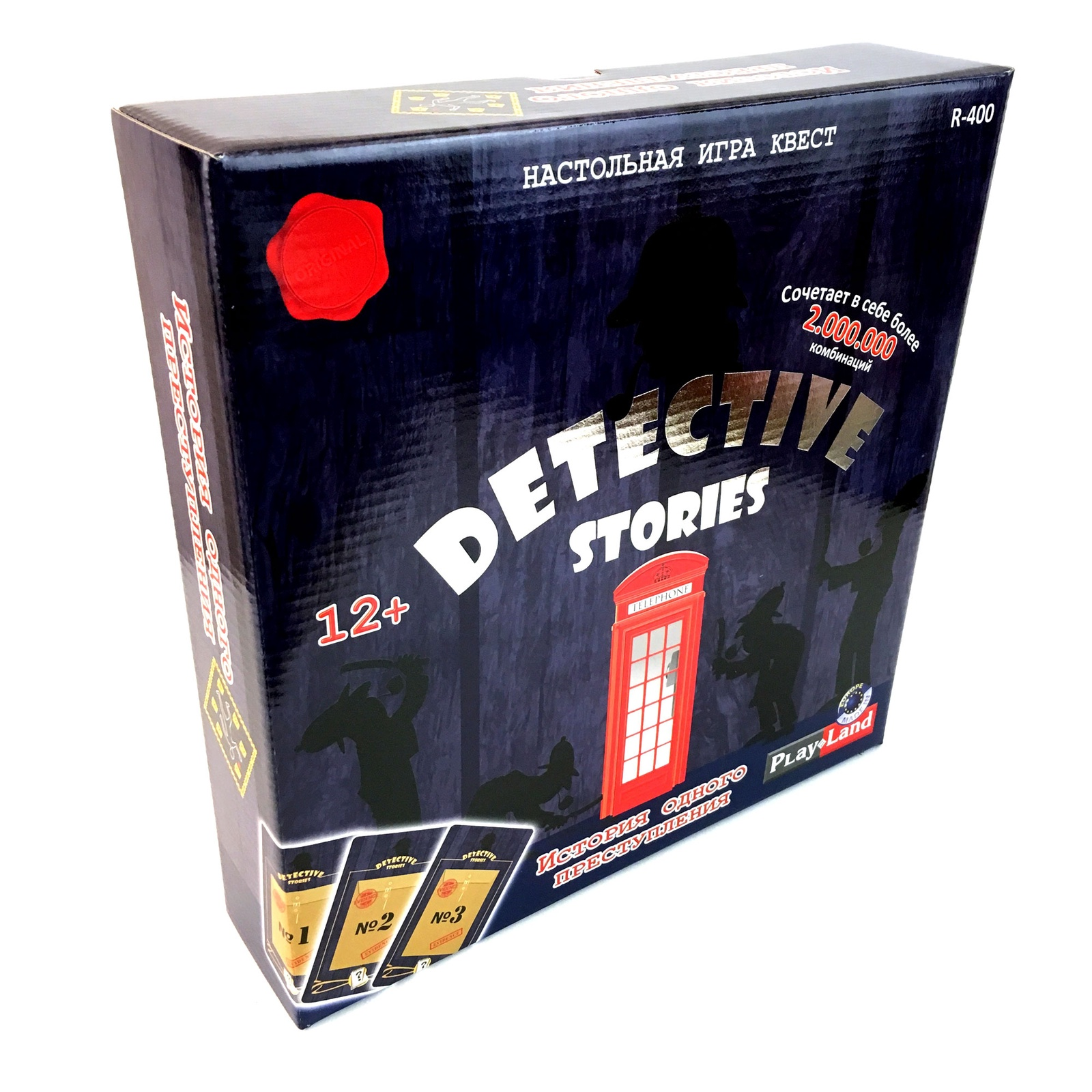 Настольная игра Play Land Детективные истории: История одного преступления настольная игра детективные истории эксперт