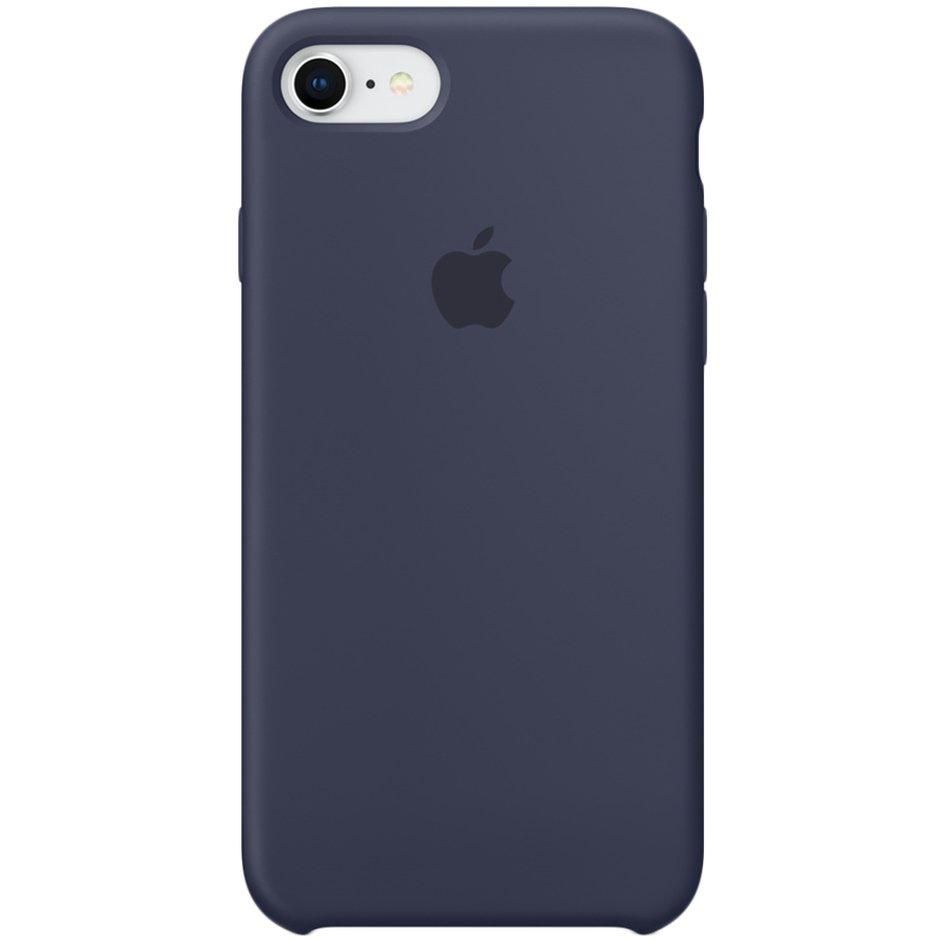 Чехол для Apple iPhone 8 Silicone Case Midnight Blue аксессуар чехол mamba case white blue для apple iphone 7 8
