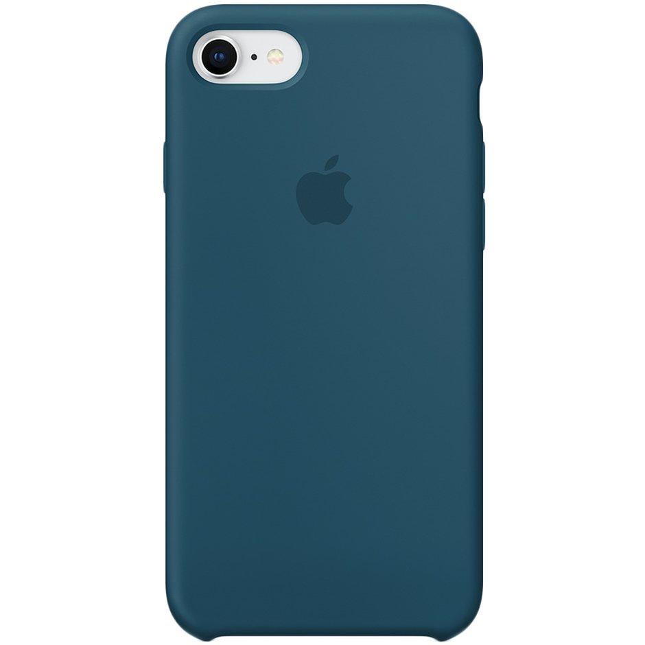 Чехол для Apple iPhone 8 Silicone Case Cosmos Blue аксессуар чехол mamba case white blue для apple iphone 7 8