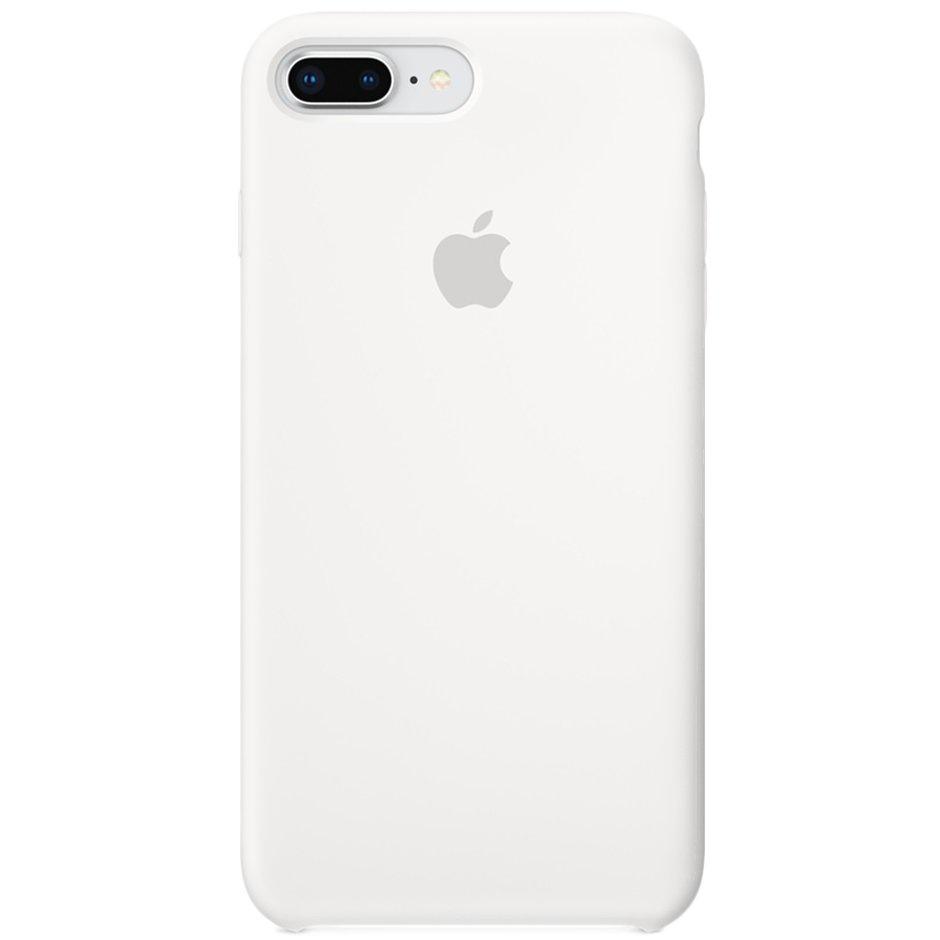 Чехол для Apple iPhone 8 Plus Silicone Case White
