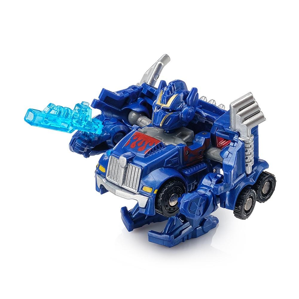 "Мини трансформер FindusToys ""Машина"" грузовик синий"