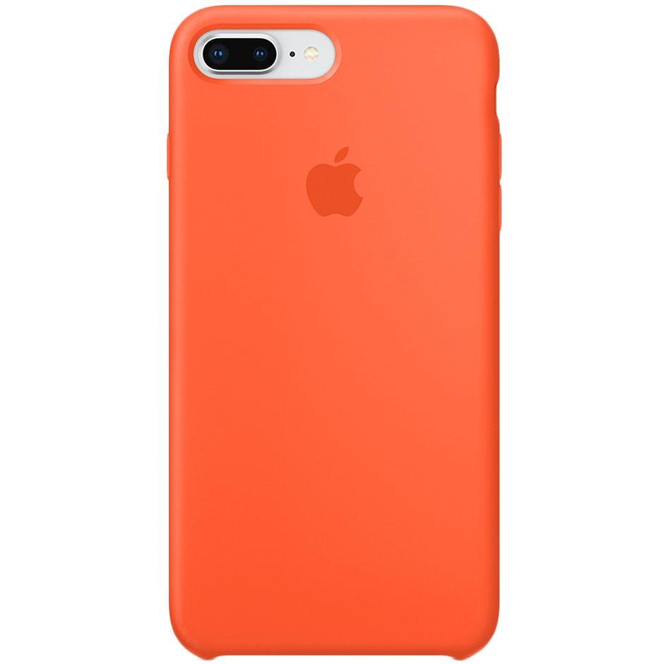 Чехол для Apple iPhone 8 Plus Silicone Case Spicy Orange чехол для apple iphone 8 7 silicone case white