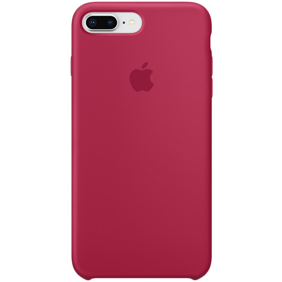 Чехол для Apple iPhone 8 Plus Silicone Case Rose Red
