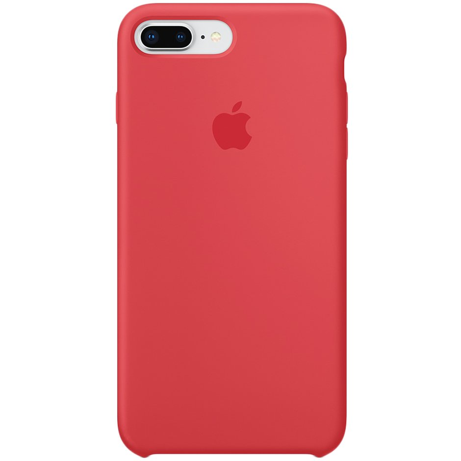 Чехол для Apple iPhone 8 Plus Silicone Case Red Raspberry