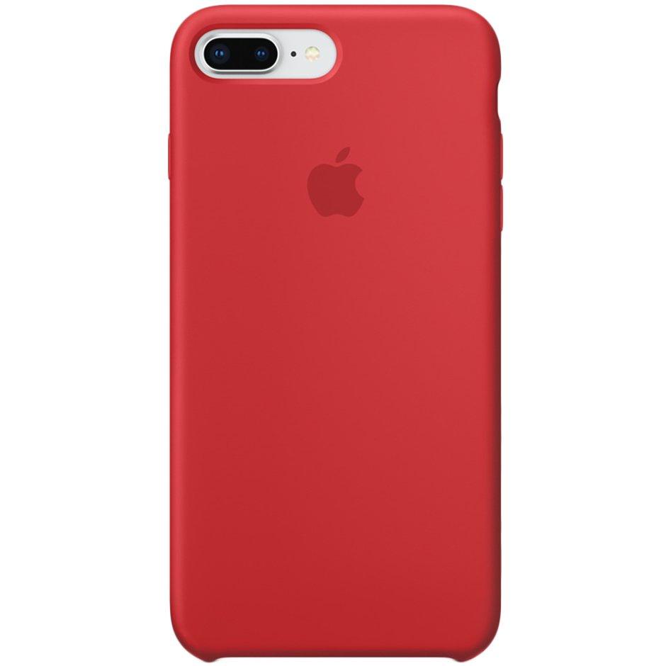 Чехол для Apple iPhone 8 Plus Silicone Case Red