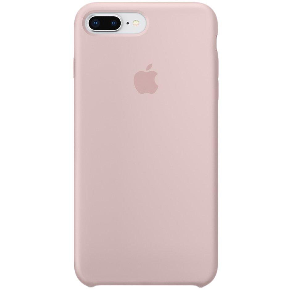 цена на Чехол для Apple iPhone 8 Plus Silicone Case Pink Sand