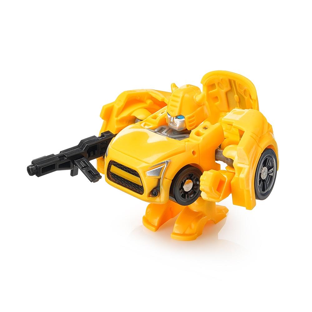 "Мини трансформер FindusToys ""Машина"" желтая"