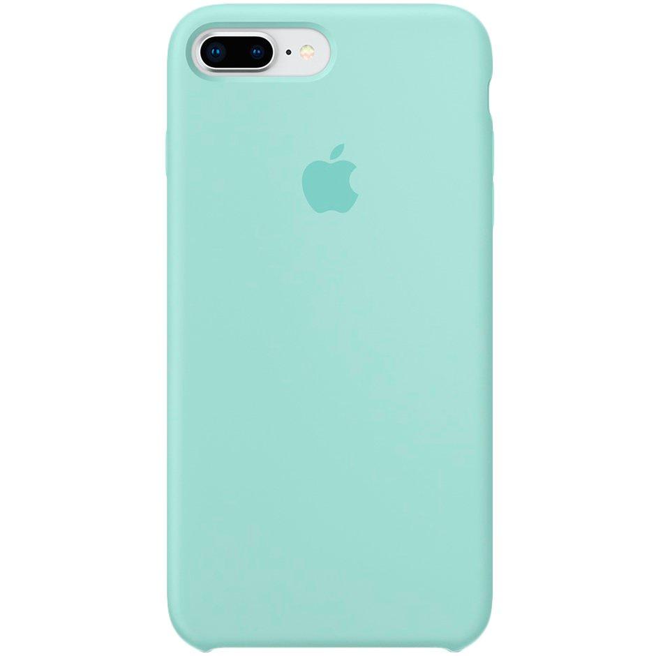 Чехол для Apple iPhone 8 Plus Silicone Case Marine Green чехол для apple iphone 8 7 plus silicone case pink sand