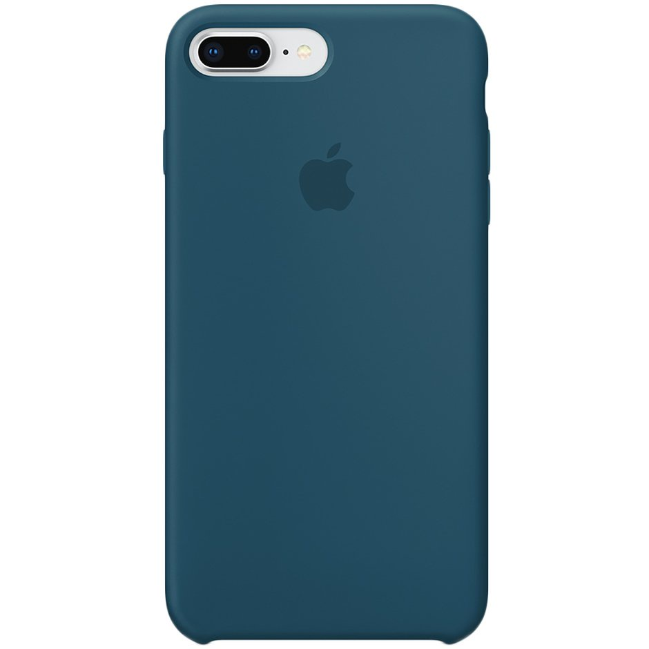 Чехол для Apple iPhone 8 Plus Silicone Case Cosmos Blue панель кожаная apple для iphone 8 plus 7 plus midnight blue