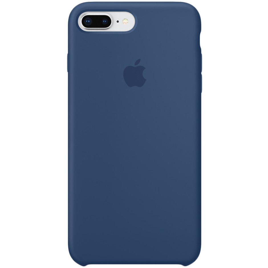 Чехол для Apple iPhone 8 Plus Silicone Case Blue Cobalt