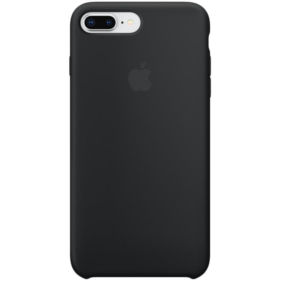 Чехол для Apple iPhone 8 Plus Silicone Case Black