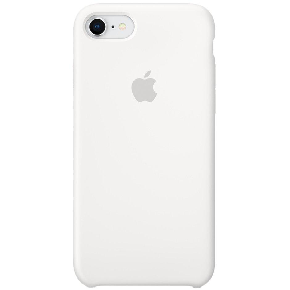 цена на Чехол для Apple iPhone 7 Silicone Case White