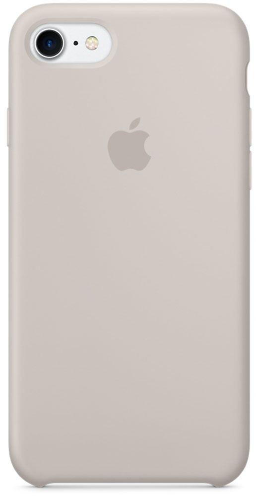 цена на Чехол для Apple iPhone 7 Silicone Case Stone