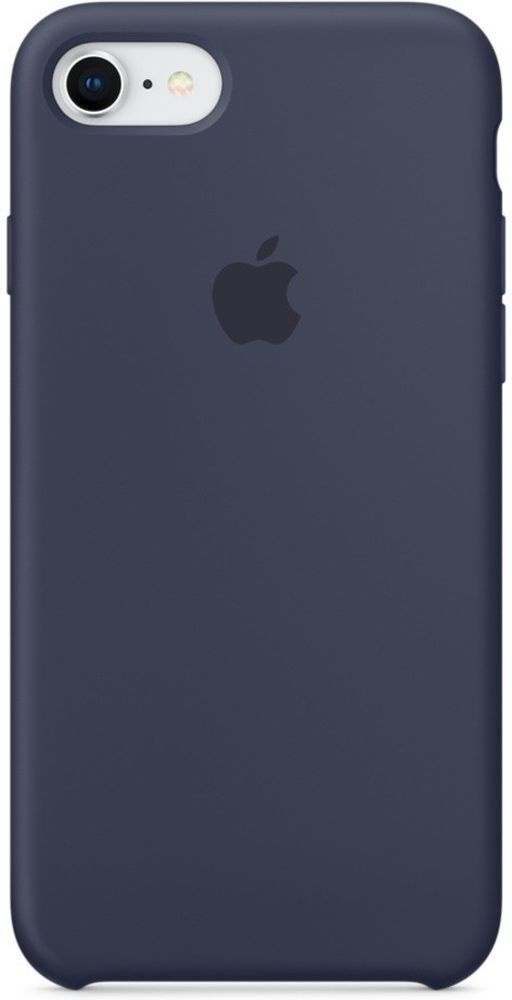 Чехол для Apple iPhone 7 Silicone Case Midnight Blue все цены