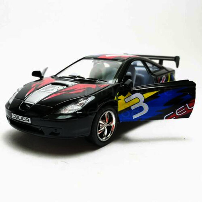 Машинка металлическая с открывающимися дверями, модель Toyota Celica Street Fighter