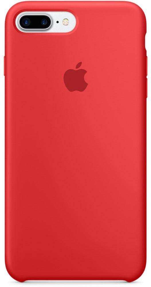 Чехол для Apple iPhone 7 Plus Silicone Case Red аксессуар чехол для apple iphone 7 8 plus 360 strong magnetic silver 90216