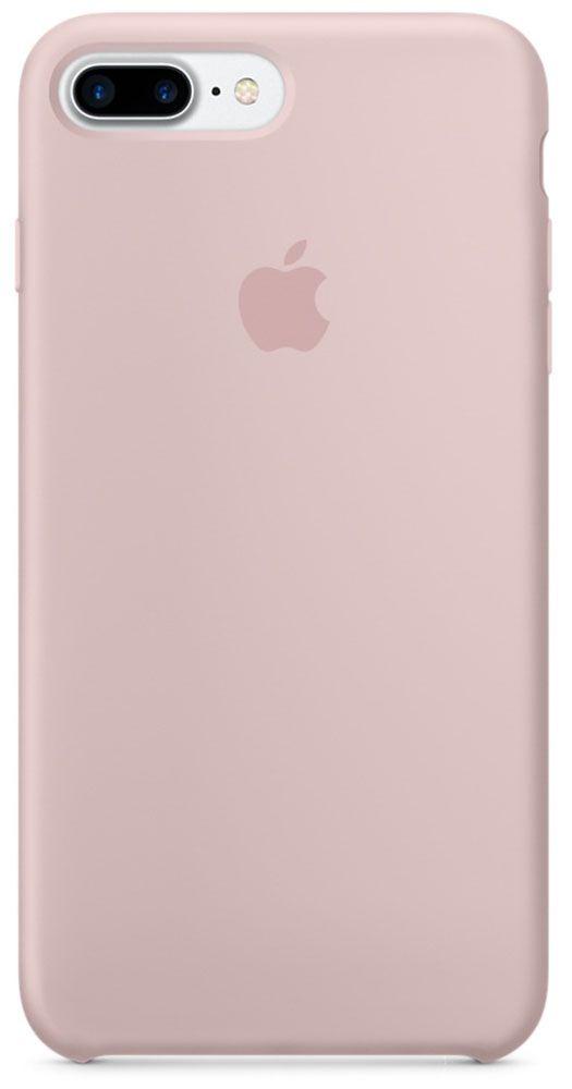 цена на Чехол для Apple iPhone 7 Plus Silicone Case Pink Sand