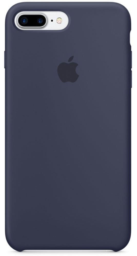 Чехол для Apple iPhone 7 Plus Silicone Case Midnight Blue панель кожаная apple для iphone 8 plus 7 plus midnight blue