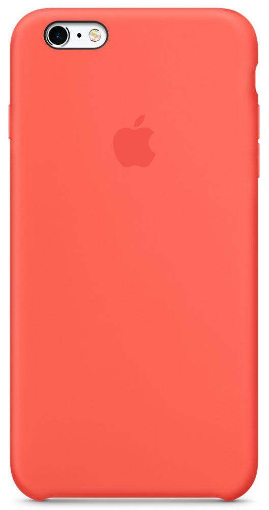 цена на Чехол для Apple iPhone 6 Plus/6S Plus Silicone Case Apricot