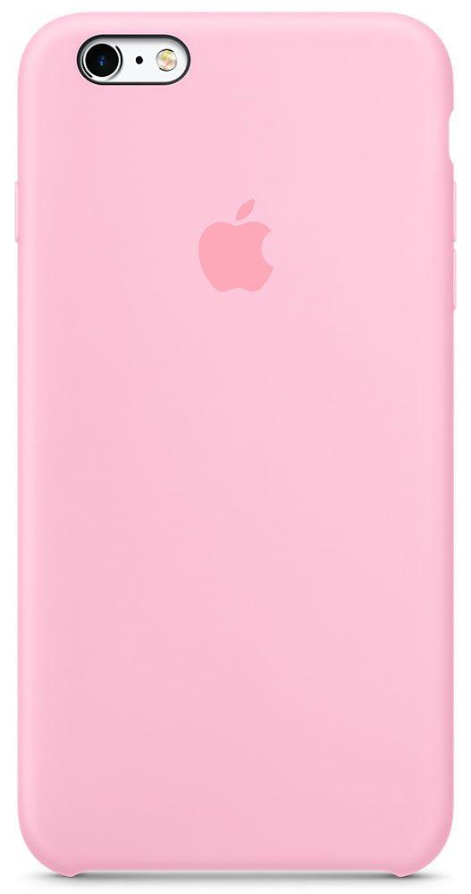 цена на Чехол для Apple iPhone 6 Plus/6S Plus Silicone Case Light Pink