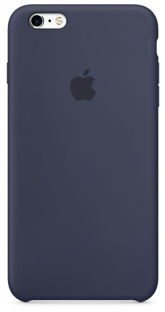цена на Чехол для Apple iPhone 6 Plus/6S Plus Silicone Case Midnight Blue