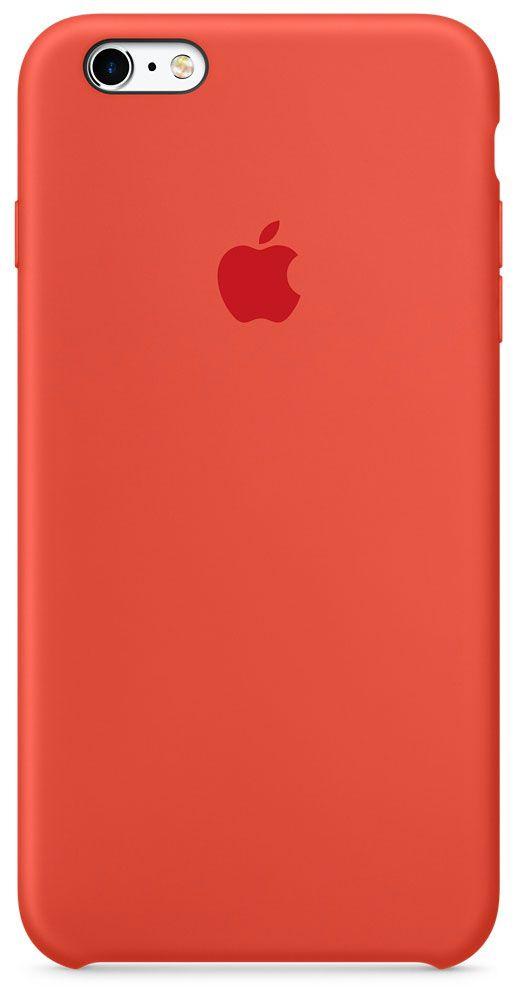 Чехол для Apple iPhone 6 Plus/6S Plus Silicone Case Orange аксессуар чехол innovation silicone case для apple iphone 6 6s plus dark pink 10620