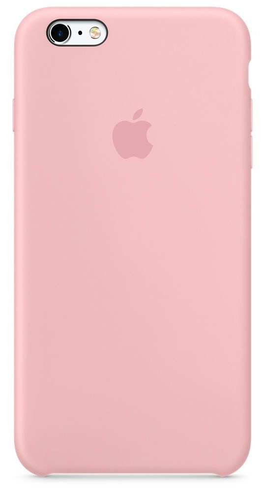 Чехол для Apple iPhone 6 Plus/6S Plus Silicone Case Pink аксессуар чехол innovation silicone case для apple iphone 6 6s plus dark pink 10620