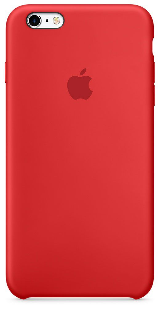 Чехол для Apple iPhone 6 Plus/6S Plus Silicone Case Red