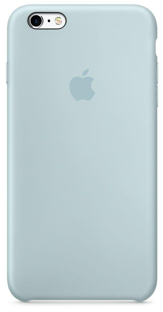 цена на Чехол для Apple iPhone 6 Plus/6S Plus Silicone Case Turquoise