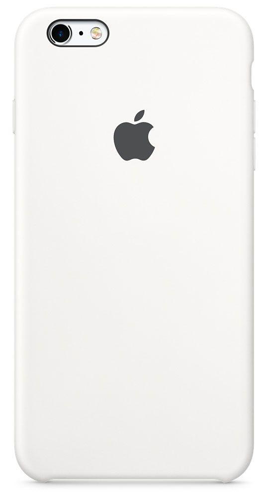 цена на Чехол для Apple iPhone 6 Plus/6S Plus Silicone Case White