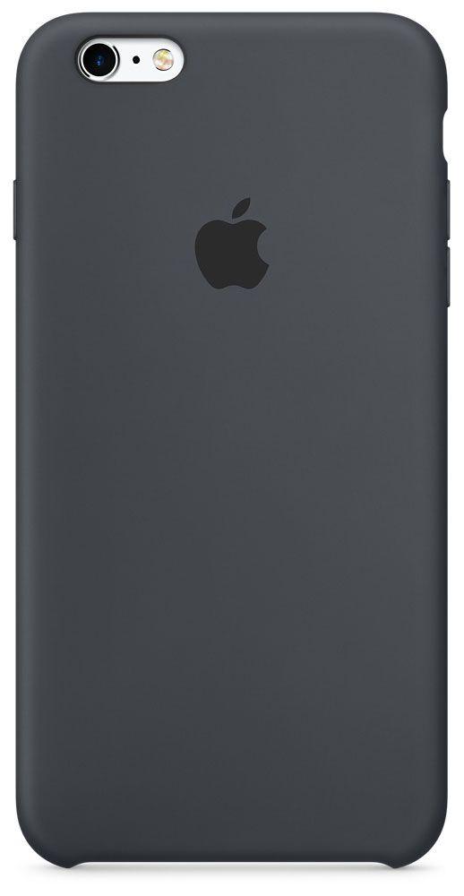 цена на Чехол для Apple iPhone 6/6S Silicone Case Charcoal Gray
