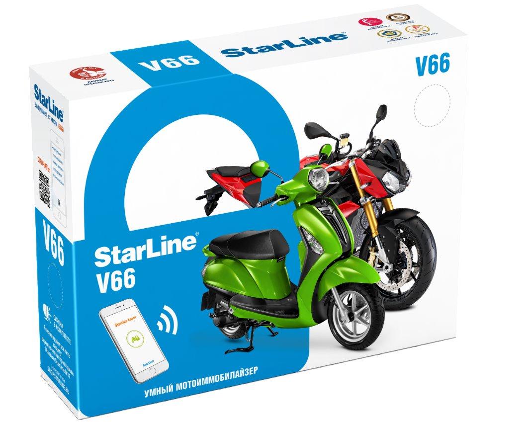 Сигнализация StarLine Мото V66 ECO