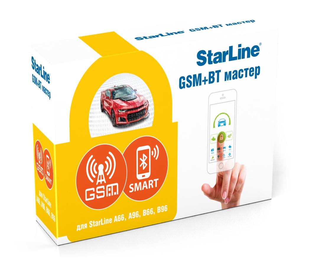 цена Модуль StarLine GSM+BT Мастер 6