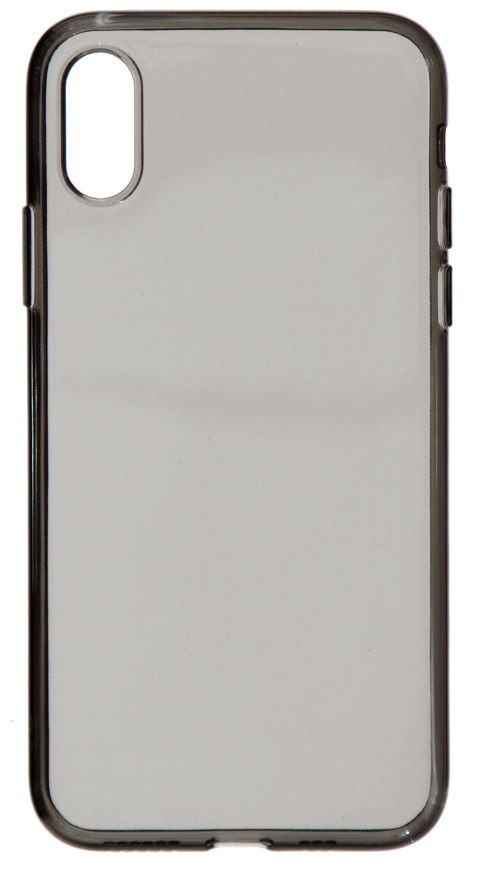 Чехол Nuobi Sil для iPhone X/XS, темный прозрачный