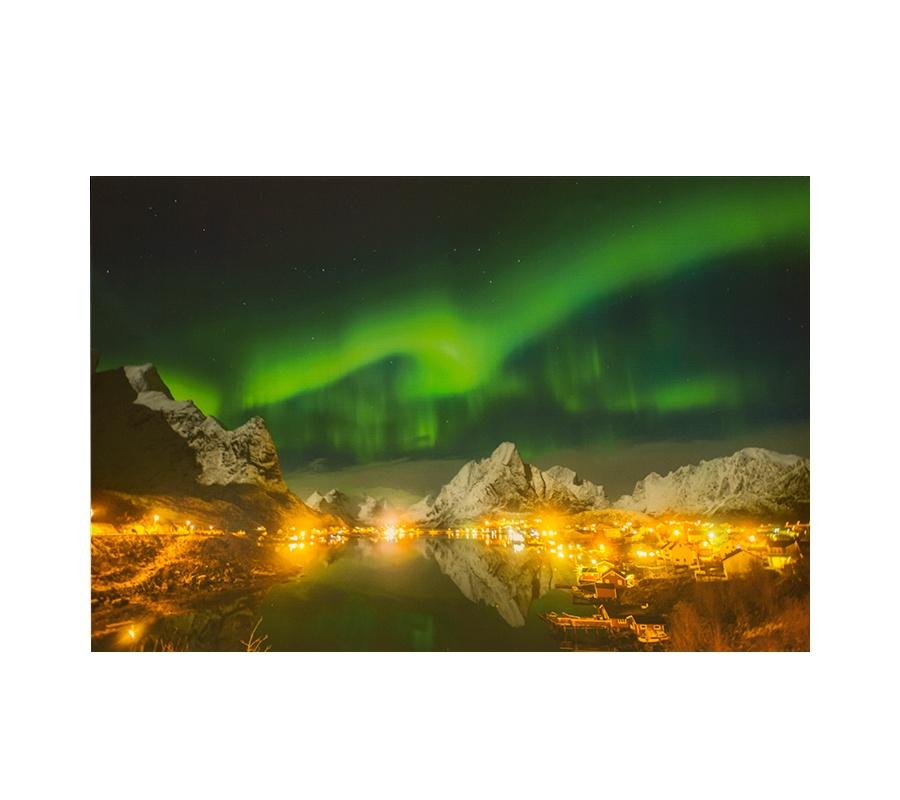 Картина с подсветкой SHINE! Волшебные горы картина горы