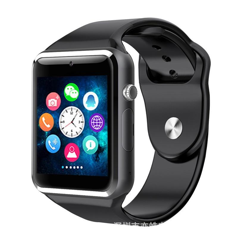 Smart Watch A1 - Умные часы со встроенной камерой (Android, IOS, Динамик, Микрофон, SIM, MicroSD) умные часы ginzzu® gz 701 black 50м android ios bluetooth мониторинг сна калорий физ активности