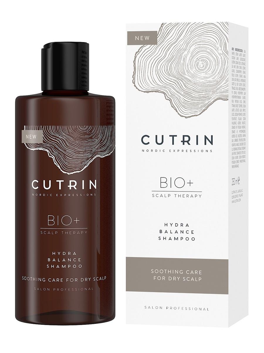 Шампунь BIO+ HYDRA BALANCE для увлажнения кожи головы CUTRIN 250 мл cutrin баланс шампунь bio balance shampoo 200 мл