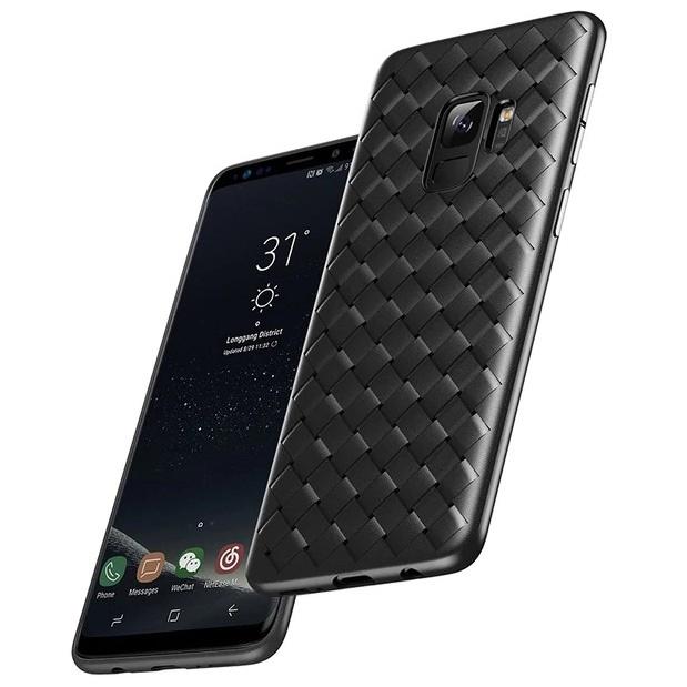 Чехол для Samsung Galaxy S9 Baseus BV Weaving - Черный (WISAS9-BV01)