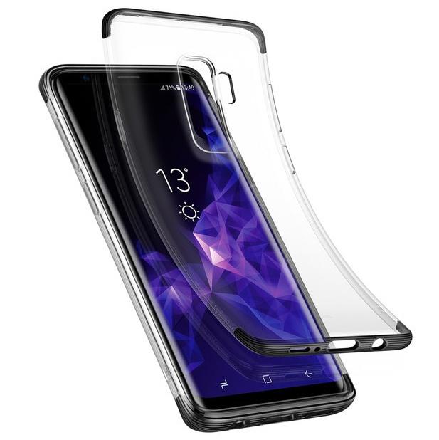 Чехол для Samsung Galaxy S9+ Baseus Armor Case - Черный (WISAS9P-YJ01)