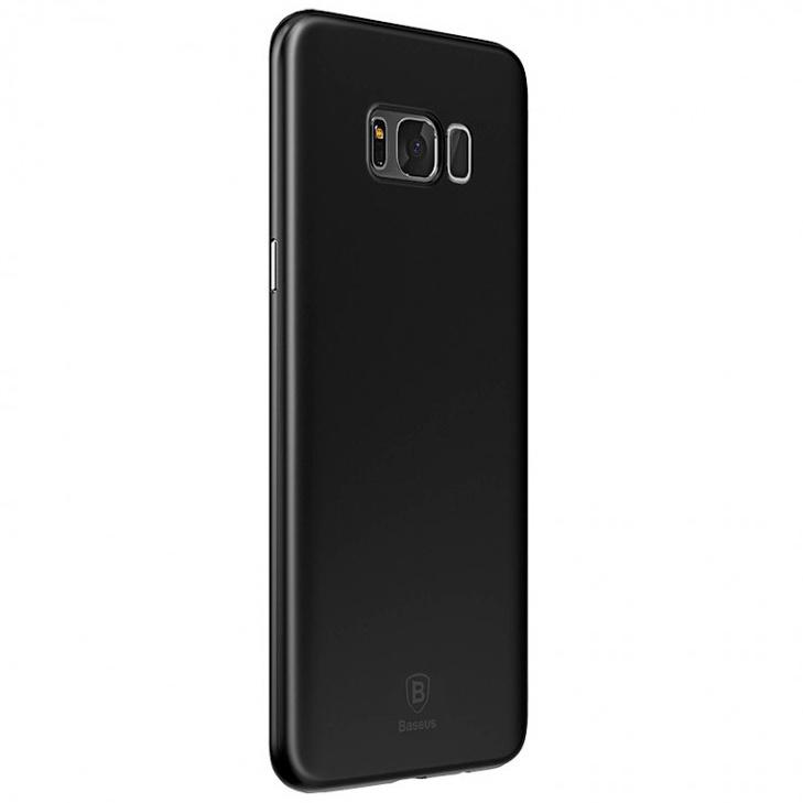 Чехол для Samsung Galaxy S8+ Baseus Wing - Черный (WISAS8P-A01)