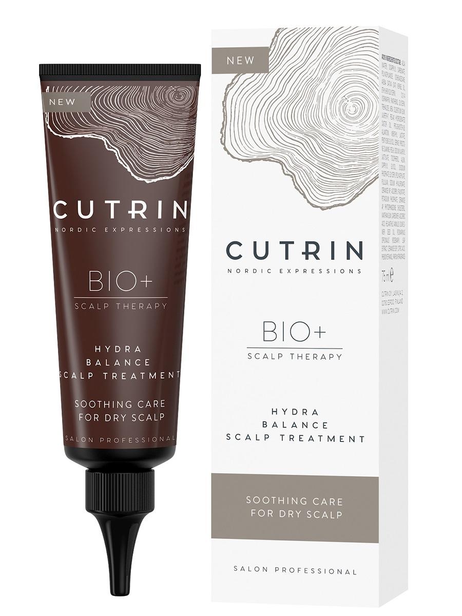 Сыворотка BIO+ HYDRA BALANCE для увлажнения кожи головы CUTRIN несмываемая 75 мл cutrin sensitive увлажняющий крем уход для сухой и чувствительной кожи головы 75 мл