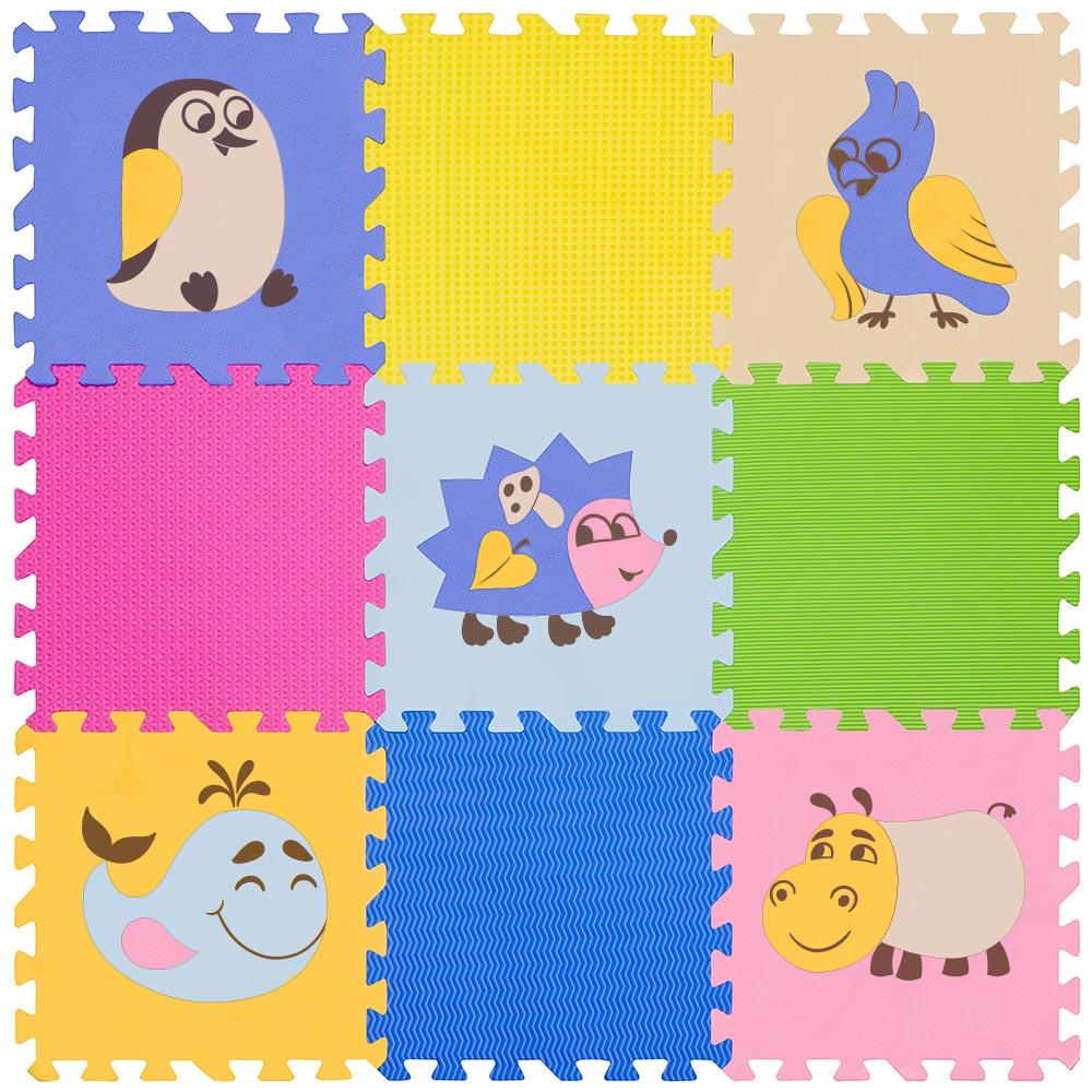 "Funkids / Детский игровой коврик-пазл ""Окружающий Мир"" арт. KB-D20B-NT-06"
