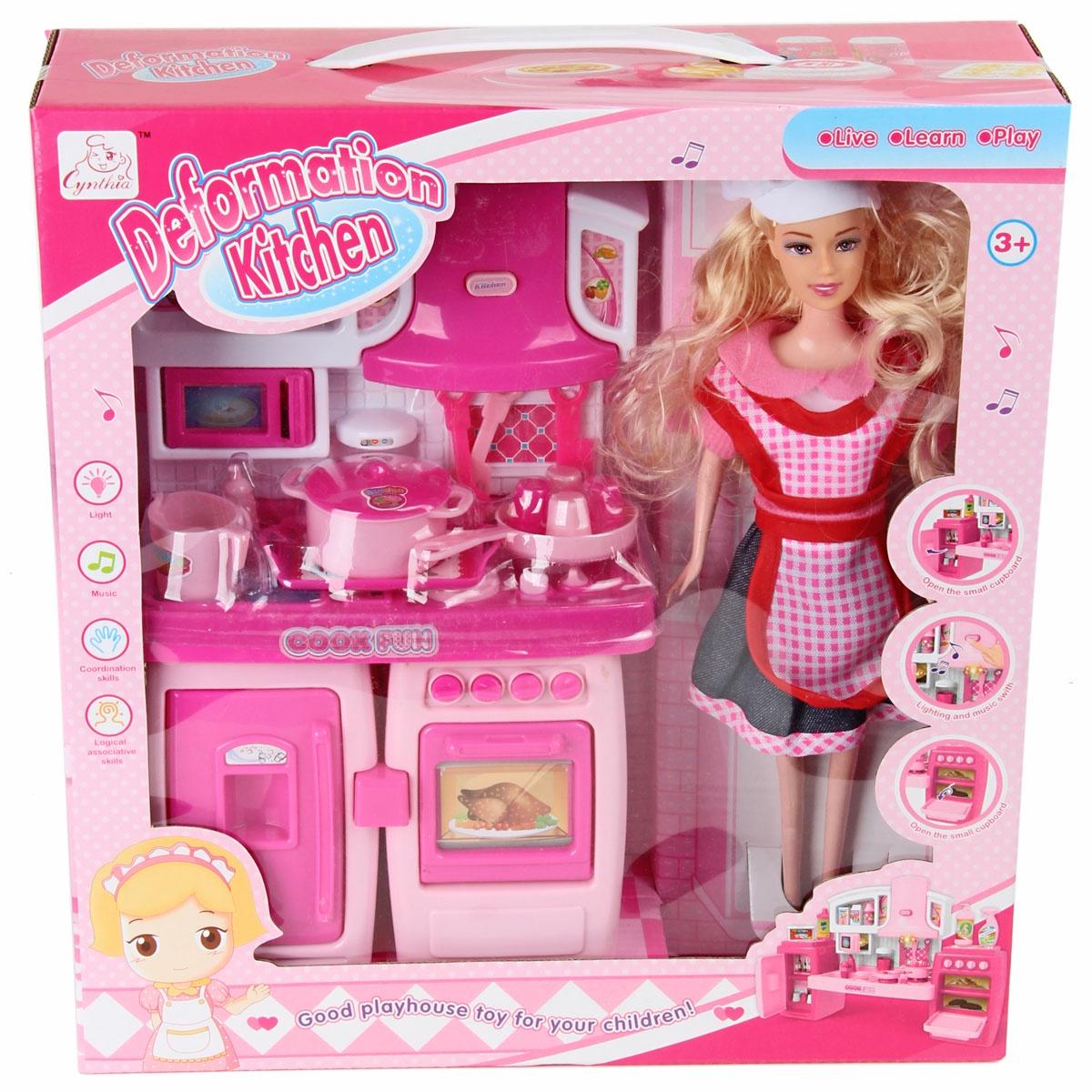 Кухня с куклой