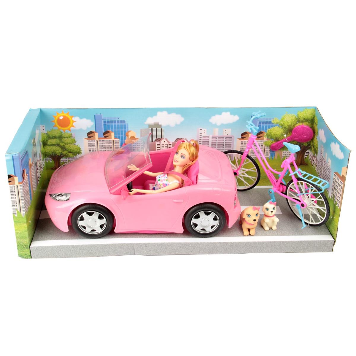Набор для сюжетной игры Кукла с машиной игры для приставки руль с педалями скачать бесплатно
