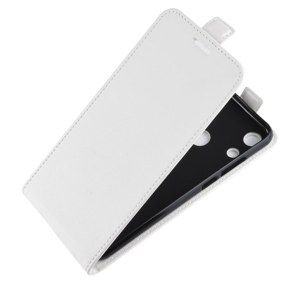 Чехол-флип MyPads для Huawei Honor 8A/Huawei Y6 (2019)/ Honor 8A Pro/ Y6 Prime 2019 вертикальный откидной белый