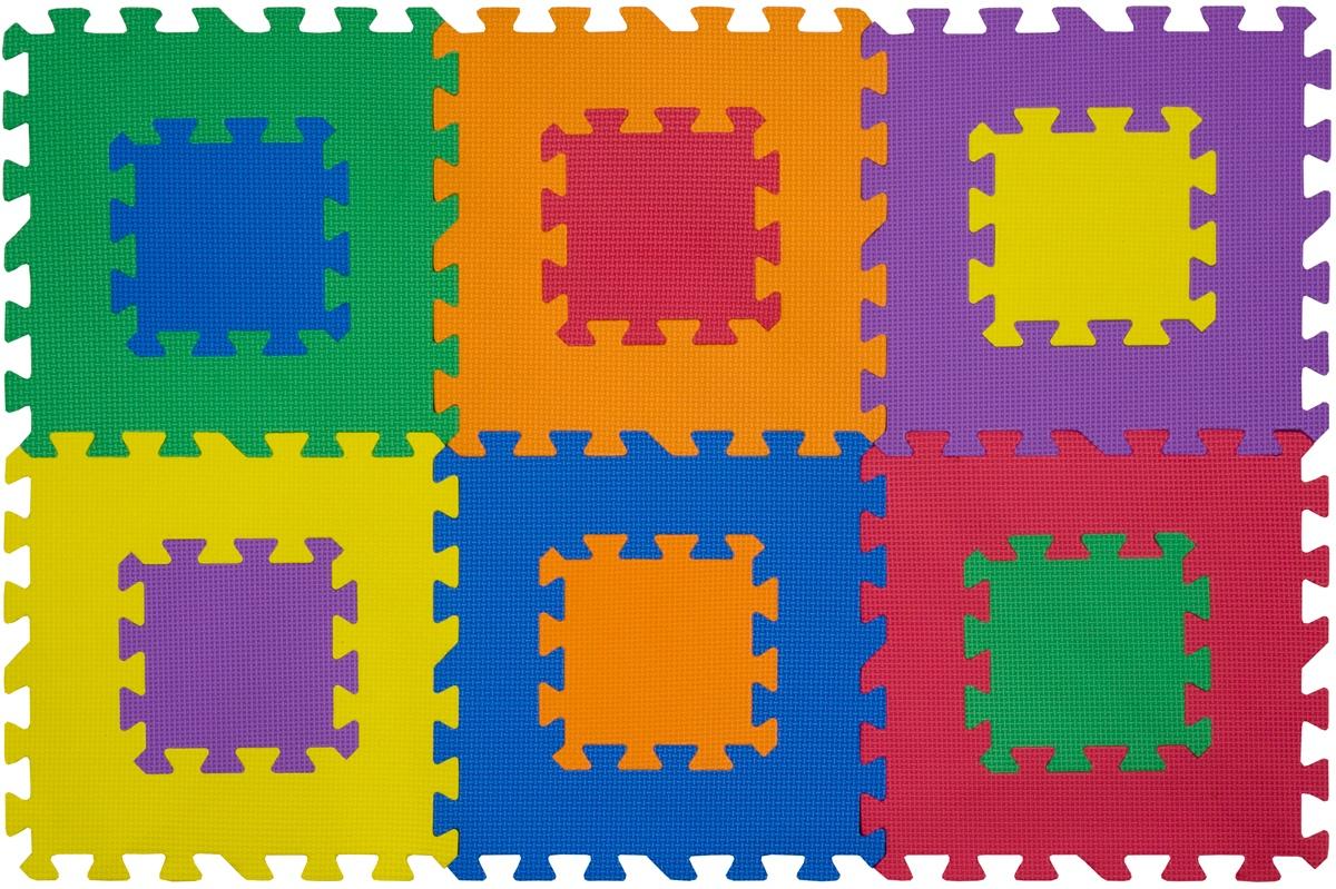 """Funkids / Детский игровой коврик-пазл """"Мозаика-12"""" арт. KB-049-6M-NT-01"""