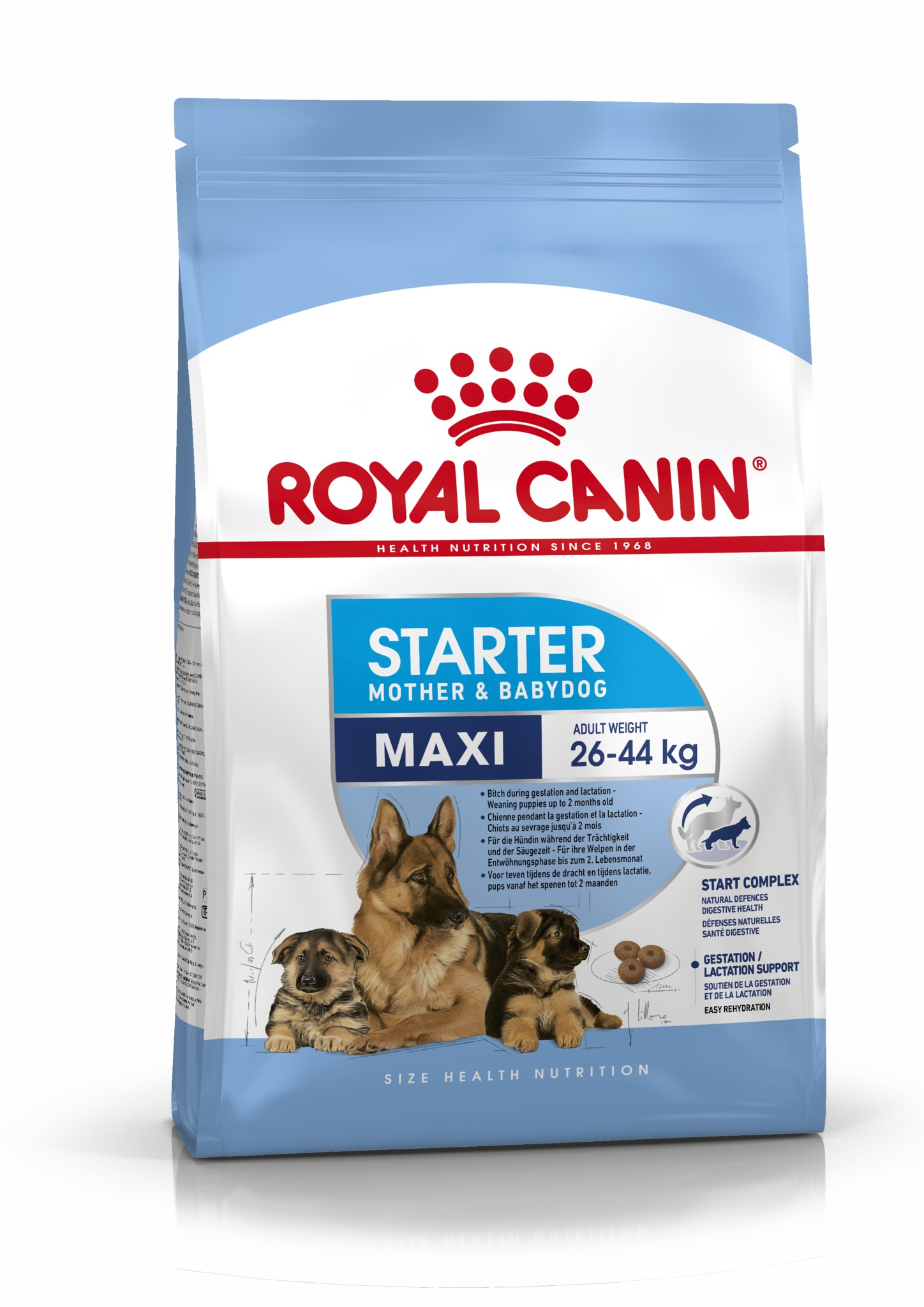 Royal Canin корм для щенков крупных пород до 2-х месяцев (15 кг) цена и фото