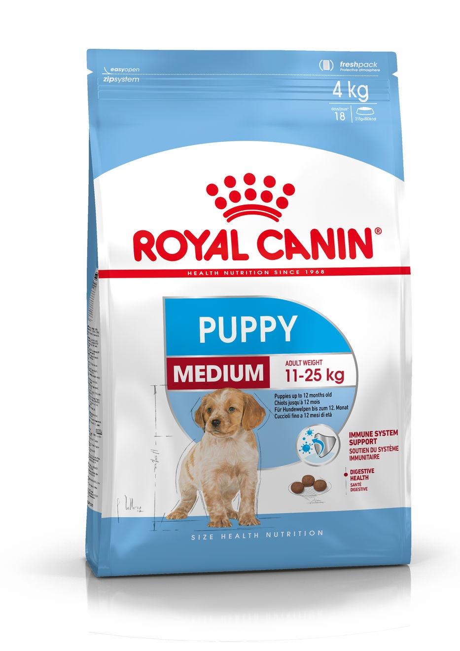 Royal Canin корм для щенков средних пород (3 кг) royal canin корм для щенков крупных пород 3 кг