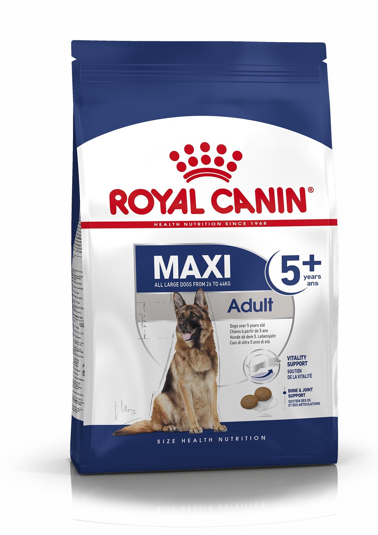 Royal Canin корм для взрослых собак крупных размеров (15 кг) цена и фото